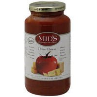 Mids Homestyle Three Cheese Pasta Sauce, 32 Ounce -- 12 per case. by Mids Homestyle Pasta Sauce