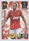 Rio Ferdinand (Trading Card) 2010 Panini Adrenalyn XL FIFA World Cup South Africa - [Base] #RIFE
