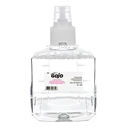 Liquid Refill Mild Hand Wash (GOJO Foam Soap Handwash - Clear and Mild Foam Handwash, 1200mL Refill for GOJO LTX-12 Dispenser (Pack of 2) - 1911-02)