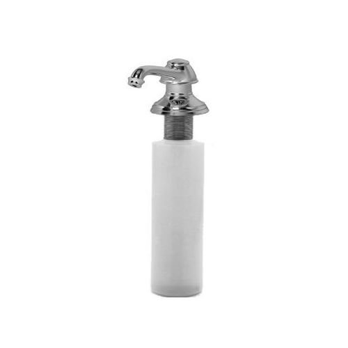 Newport Brass 2470-5721 Jacobean Deck Mounted Soap and Lotion Dispenser, Satin Nickel by Newport Brass