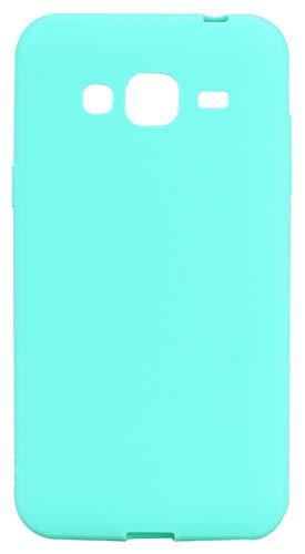 SHUNDA Funda Galaxy J3 (2016), Funda Mate Ultra Fina Suave TPU Silicone Cubierta Choque Absorción Carcasa para Samsung...