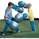 GIANT PAIR OF WHOPPAIR INFLATABLE BOXING GLOVES