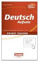 Deutsch Sekundarstufe I Aufsatz (Cornelsen Scriptor - Pocket Teacher)