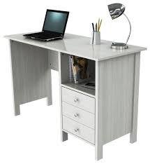 Tremendous Techni Mobili Contempo Desk White Buy Online In Oman Interior Design Ideas Clesiryabchikinfo