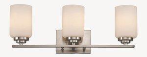 Trans Globe Lighting 70523 BN  3-Light Bath Bar, Brushed Nickel
