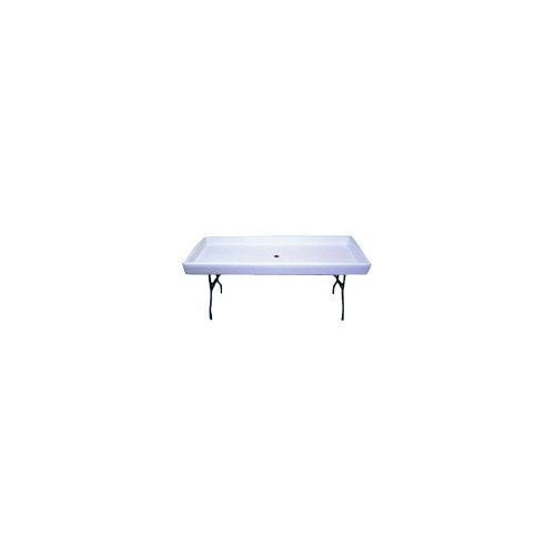 Chillin Products 1FNC7765-WHI Fill N Chill Party Table by Chillin Products