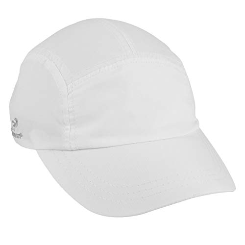 - Headsweats Woven Race Performance Running/Outdoor Sports Hat, White, One Size Fits All