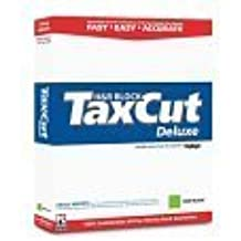 TaxCut 2004 Deluxe W/ H & R Block Deduction PRO CD