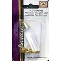 Fa55 Crystal Drop Pull Chain 12 in.Bd.