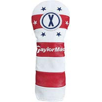 (TaylorMade Summer Commemorative Headcover Rescue White/Red)