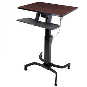 Ergotron 24 280 927 Workfit Pd Sit Stand Desk With 19 5