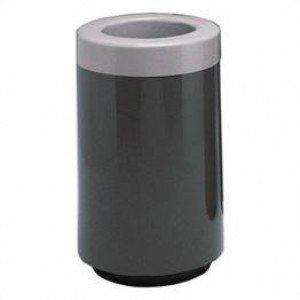 Witt Industries 7C-1831TSP Fiberglass Trash Receptacle With Plastic Liner - 25 Gallon