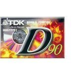 TDK D90 High Output 16-Pack audio cassette tapes by TDK