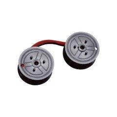 ** Compatible Calculator, Universal, C Wind, Black/Red Nylon Ribbon (OEM# 7010) (12 Ea/Box)