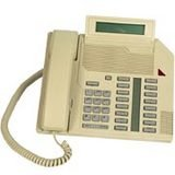 Nortel M2616 Display Telephone Ash 16 Line Display Pbx Speakerphone