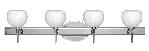 Besa Palla Bathroom Light - Besa Lighting 4SW-565819-LED-CR Palla 5-30.38
