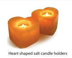 lt Rock Tealight | Candle Holder | Hand Carved | Heart Shaped | 2 Pack (Heart Shaped Tealight Holder)