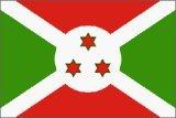 Burundi Flag Polyester 3 ft. x 5 ft.