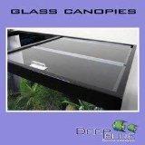 Deep Blue Professional ADB34818 Standard Glass Canopy Set, 48 by 18-Inch by Deep Blue Professional