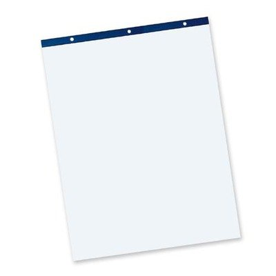 Pacon Easel Pad - 50 Sheet - Unruled - 27quot; x 34quot; - 50 / Pad - White Paper Pacon Easel Pad