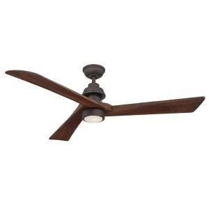 Home Decorators Collection Fortston 60 in. Oil Rubbed Bronze Ceiling Fan by (60in Fan)