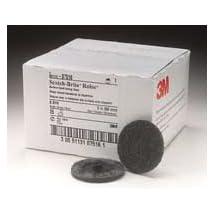 "3M 7516 2"" Scotch Brite Roloc Surface Conditioning Discs, Super Fine, Gray - 25 Per Box"