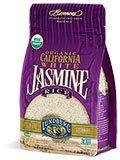 Jasmine, White Organic Rice 2 lbs. (32 oz.) Case of 12 by Lundberg