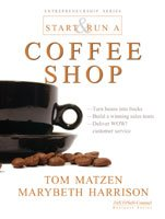 Paperback Start and Run a Coffee Shop Book