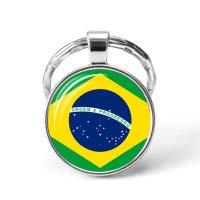 Llavero de bandera de los países de América del Sur con ...