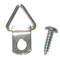 200 1-1/16'' Triangle Picture Hangers with Screws