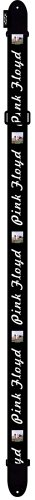 Perri's Leathers 2 Inch Polyester Pink Floyd Guitar Strap-Al