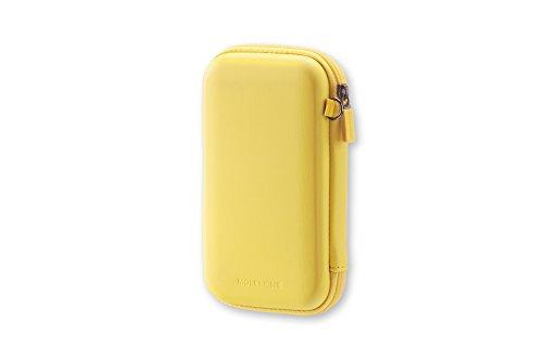 Moleskine Journey Travel Hard Pouch, Small, Hay Yellow