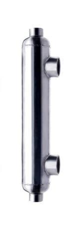 Titanium Exchanger Heat Btu (AB 300K Btu Titanium Pool Heat Exchanger with Same Side Ports 2