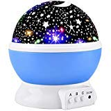 (Elmchee Star Night Light for Kids, Universe Night Light Projection Lamp, Romantic Star Birthday Projector Lamp for Bedroom)