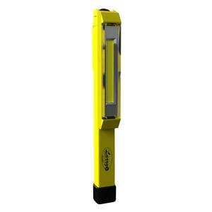Nebo 6353 Larry C 170 lm C-O-B LED Power Work Flashlight with 3 AAA Batteries Included, Yellow