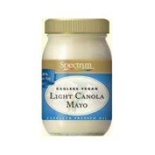 (Spectrum Naturals Light Canola Eggless Vegan Mayonnaise, 16 Ounce - 6 per case.)