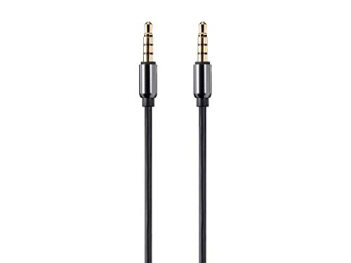 Monoprice Onyx Series Auxiliary 3.5mm TRRS Audio & Microphone Cable, 6ft - (118633)