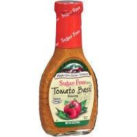 Maple Grove Farms Sugar Free Tomato Basil Dressing, 8 Fluid Ounce - 12 per case.