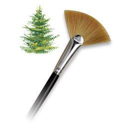 Langnickel Combo Fan Blender Artist Paint Brush - L3030-1 - Single