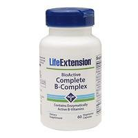 Life Extension Bioactive Complete B complex, 60 Count X 2