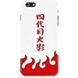 Iphone 6 Case,Naruto Fifth Hokage Red LES Custom TPU Rubber Cell Case Cover