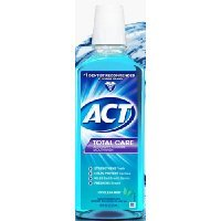 Act Total Care Anticavity Fluoride Mouth Wash, Icy Clean Mint 18 Oz (Pack of 2) by ACT
