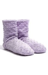 Sonoma Lavender Spa Bootie - Lavender DOT (Aromatherapy Booties)