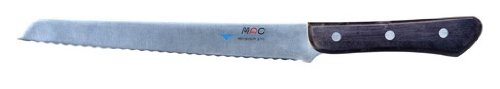 Mac Knife Chef Series Bread/Roast Slicer Knife, 8-3/4-Inch