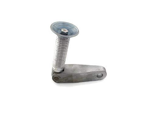 Johnson Evinrude OMC Outboard 0375742 Clamp Handle Assy Screw Set Kit Plate Swivel Aluminum 5//8UC M5