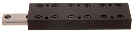 1 Each Del-Tron Low Profile Crossed Roller Slide Table Linear Motion 1.181 x 1.969 Lg. 1.181 Travel
