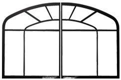 dk44-w-1-webbed-arched-door-for-gdi-44n-model-painted-black