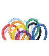 Qualatex 350Q Medium Twisting Balloons, Traditional Assortment – Pack of 100, Health Care Stuffs