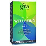 Gaia Herbs Daily Wellbeing Supplement for Men, 60 Count (3 Pack) For Sale