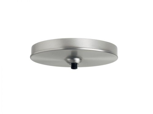 Besa Lighting T21Q-SN Monopoint Flat Canopy Glass, Satin Nickel Finish ()